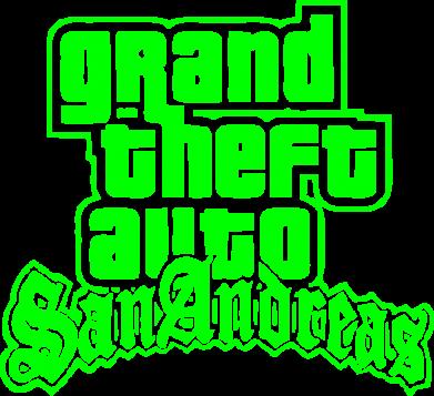 Принт Мужская майка GTA San Andreas - FatLine