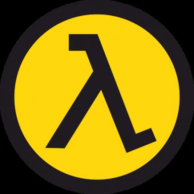 Принт Футболка Поло Half Life Logo - FatLine