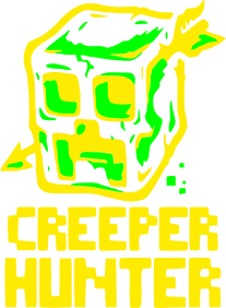 Принт Штаны Creeper Hunter - FatLine