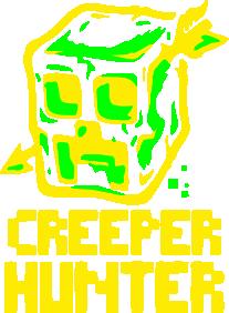 Принт Женская майка Creeper Hunter - FatLine
