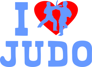 Принт Реглан I love Judo - FatLine