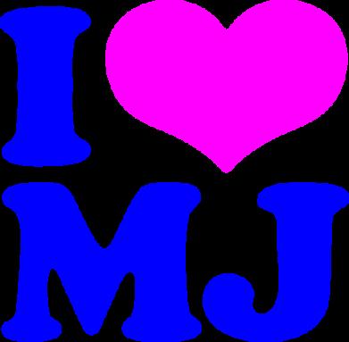 Принт Сумка I love MJ - FatLine