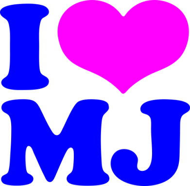Принт Кружка 320ml I love MJ - FatLine