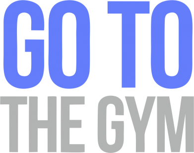 Принт Футболка GO TO THE GYM - FatLine