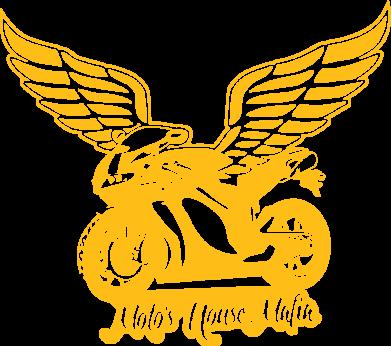 Принт Женская толстовка Байк с крыльями - FatLine