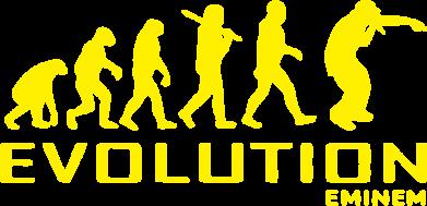 Принт Женская футболка Eminem Evolution - FatLine