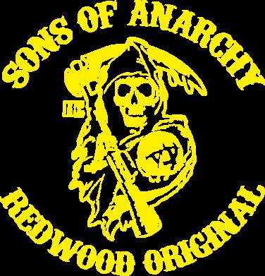 Принт Футболка Поло Sons of Anarchy - FatLine