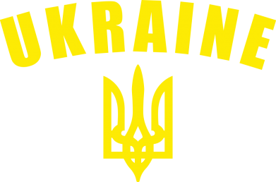 Принт кепка Ukraine + герб - FatLine