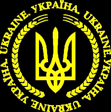 Принт Женская футболка с V-образным вырезом Герб України - FatLine