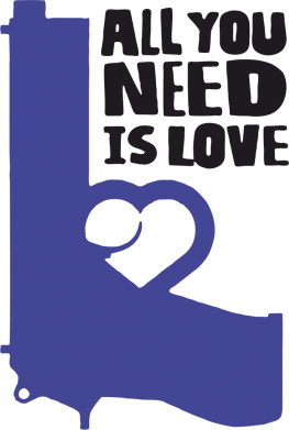 Принт Кружка 320ml All you need is love (Ukraine) - FatLine