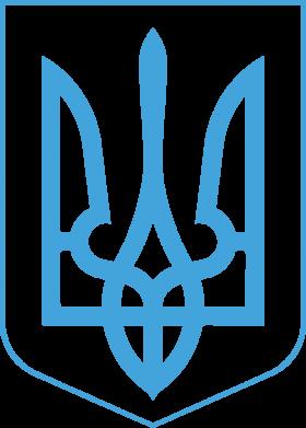 Принт Штаны Герб України з рамкою - FatLine