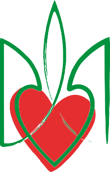 Принт Кружка 320ml Серце з гербом - FatLine