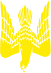 Принт Женская футболка Герб-сокіл - FatLine