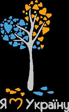Принт Реглан Я люблю Україну дерево - FatLine