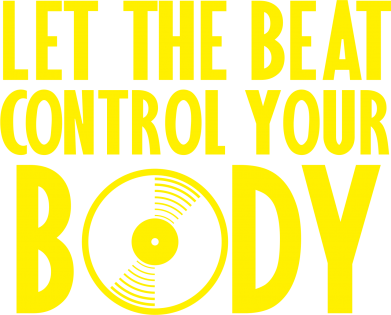 Принт Штаны Beat control your body - FatLine