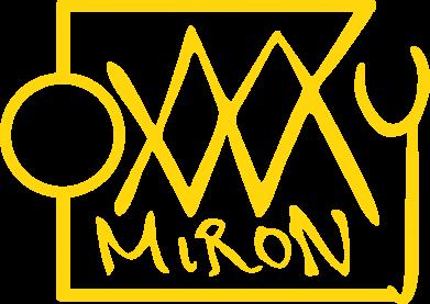 Принт Мужская толстовка на молнии OXXXY Miron - FatLine