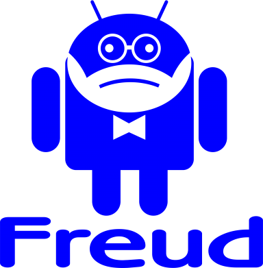 Принт Фартук Android Freud - FatLine