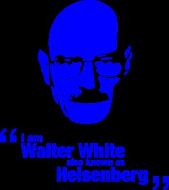 Принт Кружка 320ml i am walter white also known as heisenberg - FatLine