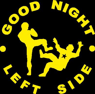 Принт Женская футболка поло Good Night - FatLine