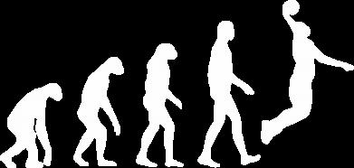 Принт Детская футболка Basketball Evolution - FatLine