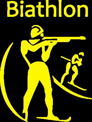 Принт Женская толстовка Biathlon - FatLine