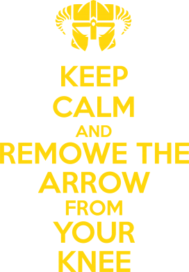 Принт Женская майка KEEP CALM and REMOVE THE ARROW - FatLine