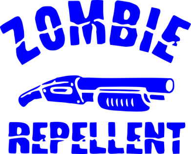 Принт Кружка 320ml Zombie repellent - FatLine