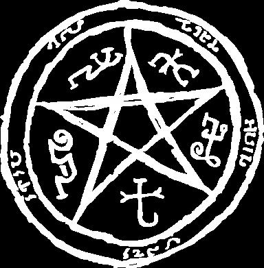 Принт Майка-тельняшка Оккультный символ Сверхъестественное - FatLine