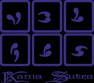 Принт Сумка Kama Sutra позы - FatLine