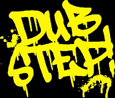 Принт Мужская стрейчевая футболка Dub Step Граффити - FatLine