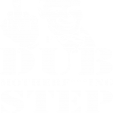 Принт Футболка Поло Dub Step mother***ng - FatLine