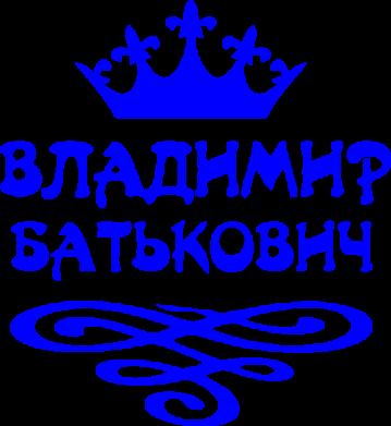 Принт Футболка Владимир Батькович - FatLine