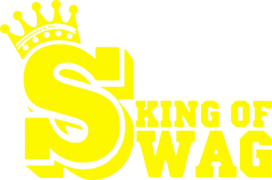 Принт Футболка Поло King of SWAG - FatLine