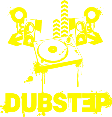 Принт Футболка Поло Dub Step Mix - FatLine