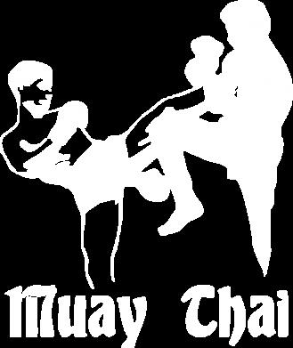 Принт Мужская толстовка на молнии Muay Thai Fighters - FatLine