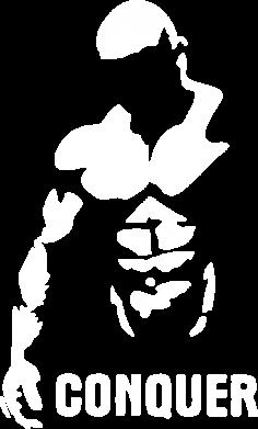Принт Женские шорты Conquer - FatLine