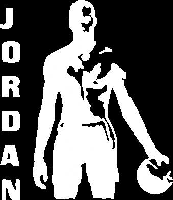 Принт Мужская толстовка на молнии Jordan - FatLine