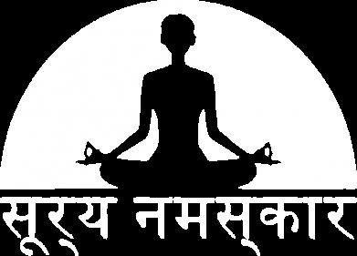 Принт Мужская футболка  с V-образным вырезом Йога - FatLine
