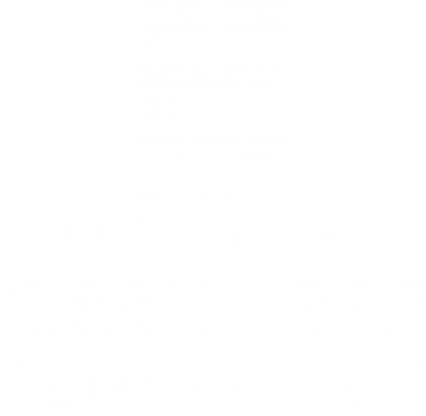 Принт Наклейка The Real Slim Shady - FatLine