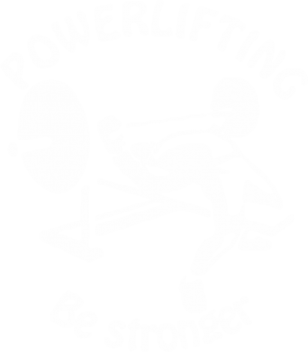 Принт Толстовка Powerlifting be Stronger - FatLine