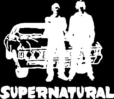 Принт Реглан Supernatural Братья Винчестеры - FatLine