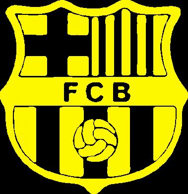 Принт Мужская футболка  с V-образным вырезом FC Barcelona - FatLine