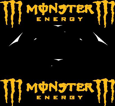 Принт Сумка Monster Energy DC Logo - FatLine