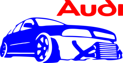Принт Подушка Audi Turbo - FatLine
