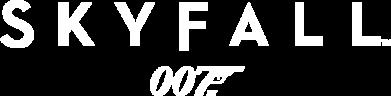 Принт Женская футболка с V-образным вырезом Skyfall 007 - FatLine
