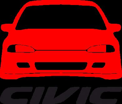 Принт Детская футболка Honda Civic - FatLine