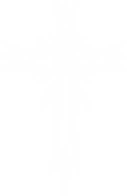 Принт Футболка с длинным рукавом Крест 2 - FatLine