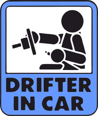 Принт Штаны Drifter in Car - FatLine