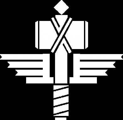 Принт Мужские шорты Manowar Logo - FatLine