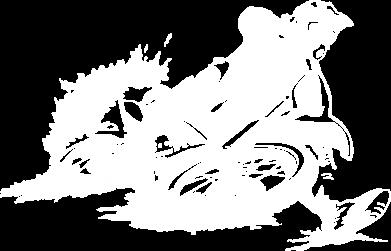 Принт Детская футболка Мотокросс лого - FatLine